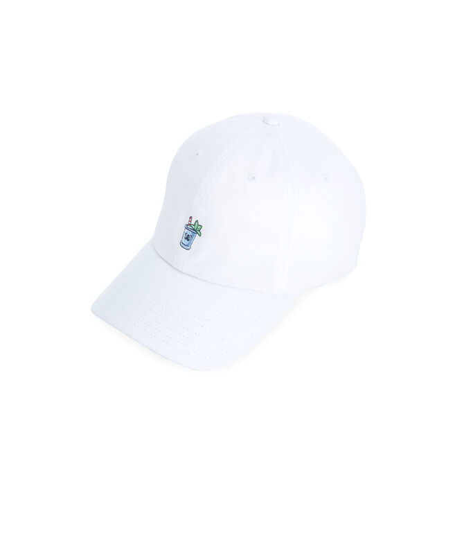Mint Julep Icon Embroidered Twill Baseball Hat