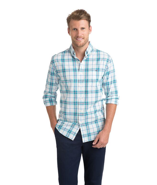 Picket Plaid Slim Tucker Shirt