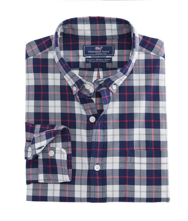 Riverbank Plaid Slim Murray Shirt