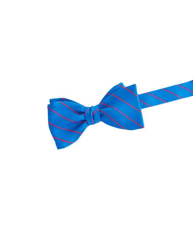Shop Fishing Line Stripe Bow Tie At Vineyard Vines