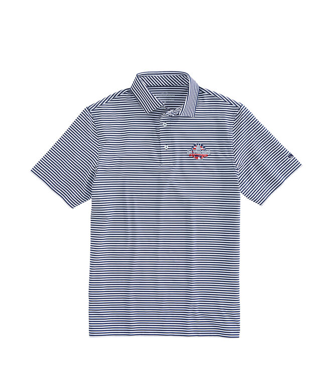MLB All-Star Game Winstead Stripe Sankaty Performance Polo