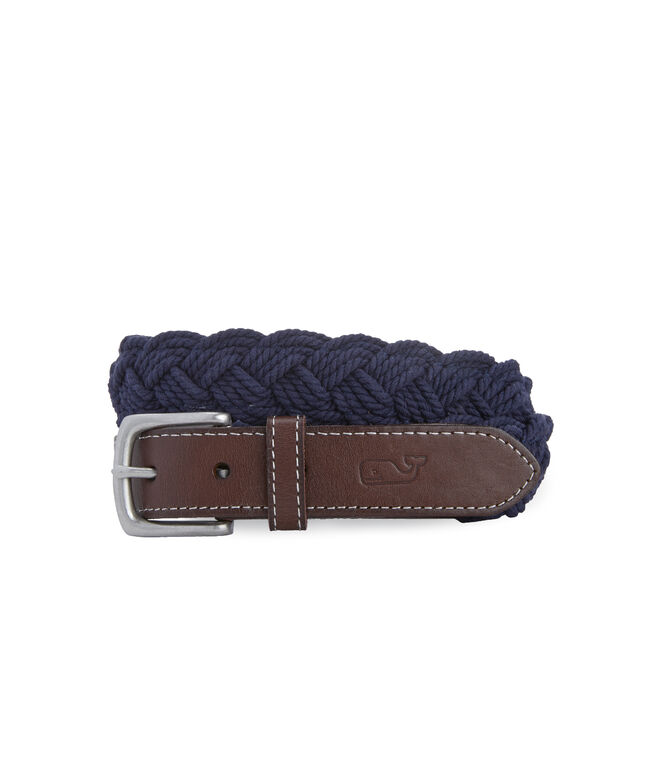 Distressed Rope Belt