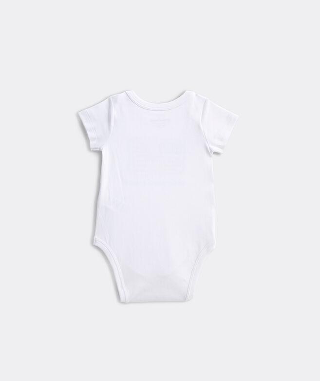 Baby American Flag Bodysuit