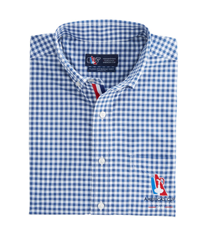 America's Cup Gingham Classic Murray Shirt