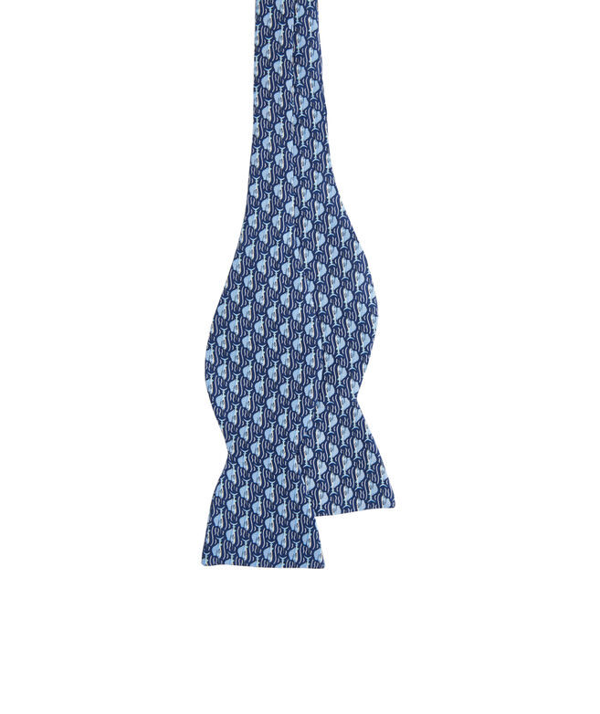 Marlin Leap Printed Bow Tie
