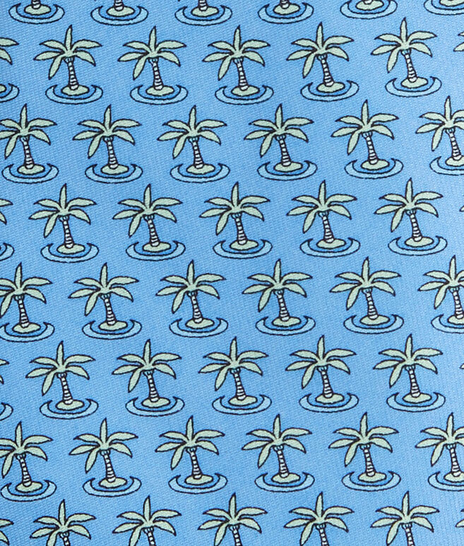 20th Anniversary Palm Tree Tie