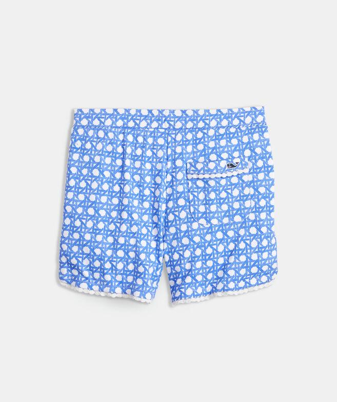 Girls' Dot Trim Shorts