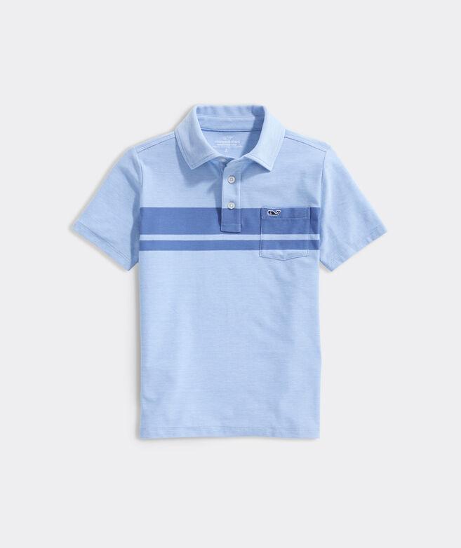 Boys' Soul Stripe Edgartown Polo