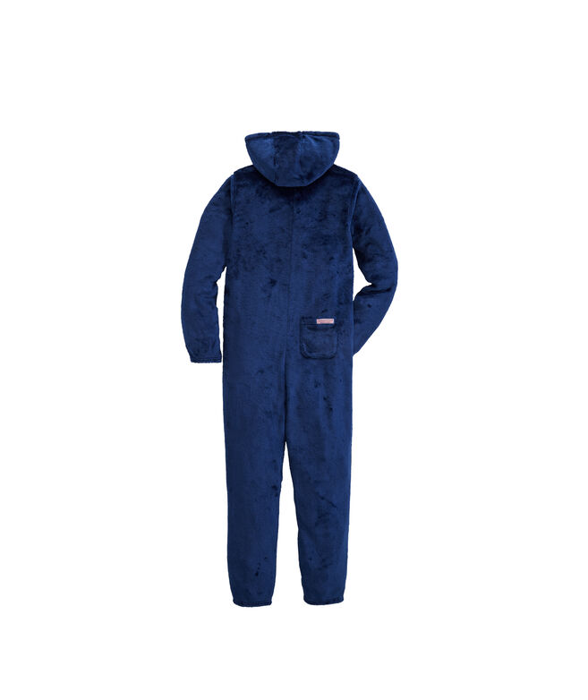 Kids High Loft Whale Hooded One-Piece Pajamas