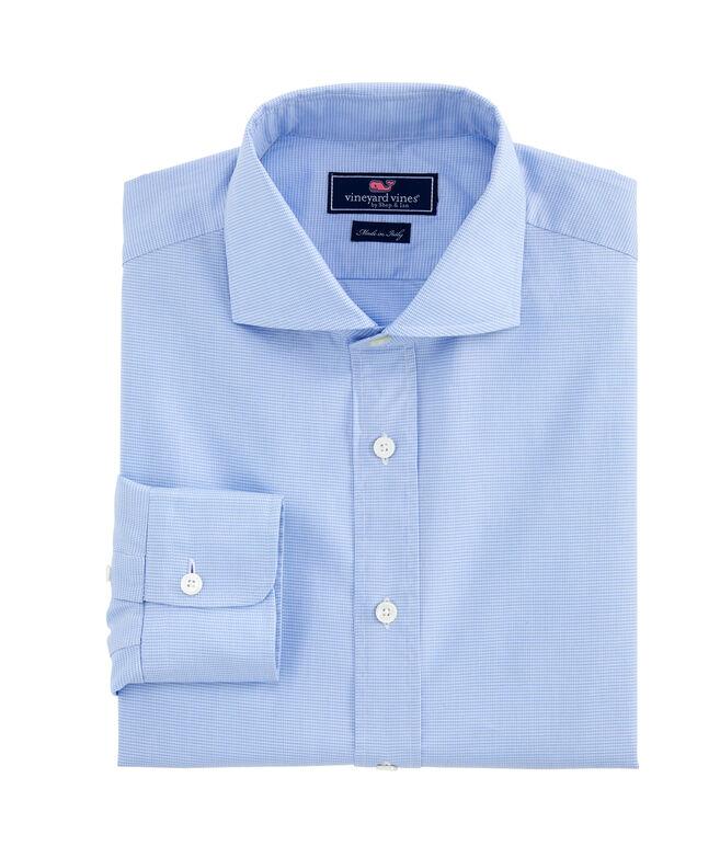 Houndstooth Greenwich Shirt