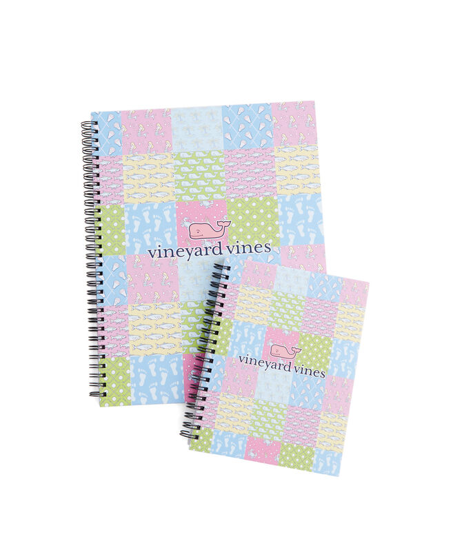 Patchwork Notebook Set