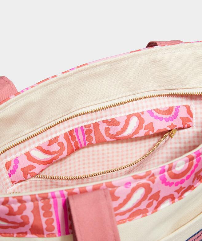 Island Scarf Print Classic Tote Bag
