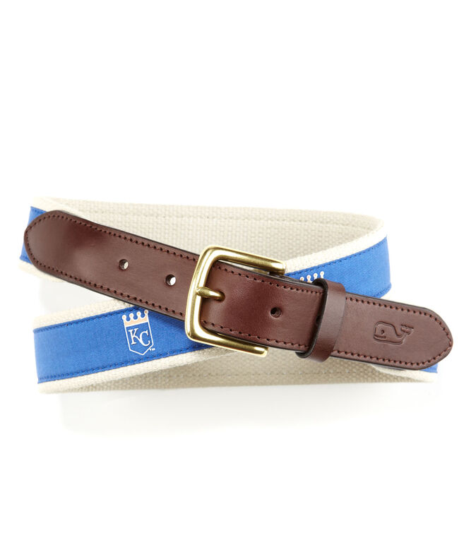 Kansas City Royals Canvas Club Belt