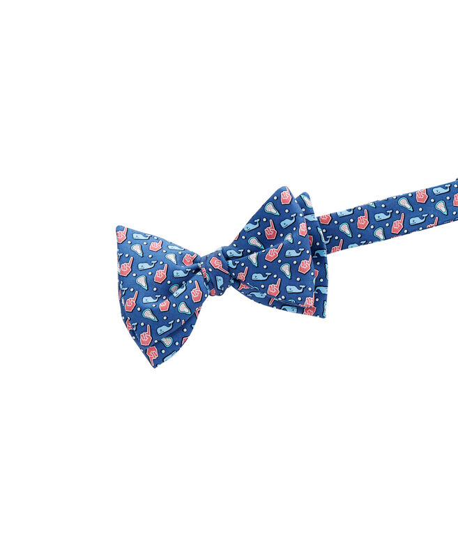 Lacrosse Fan Bow Tie
