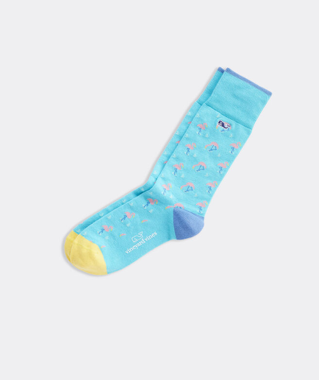 Flamingo Icon Socks
