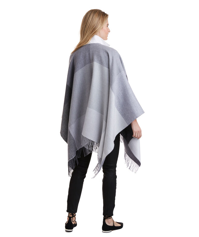 Reversible Colorblock Cape