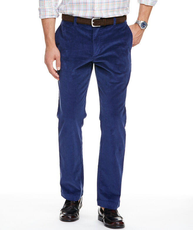 Shop Stretch Corduroy Slim Breaker Pants at vineyard vines