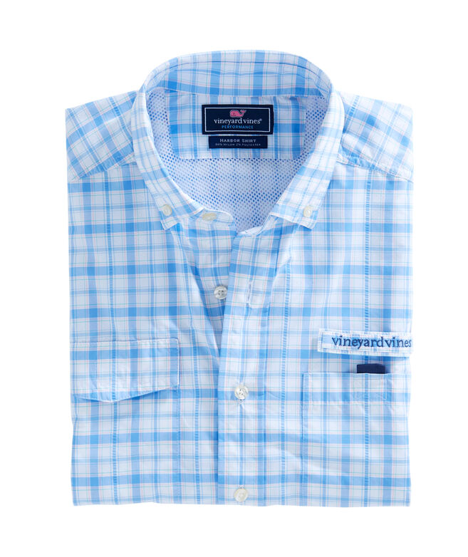 Hawksbill Plaid Harbor Shirt