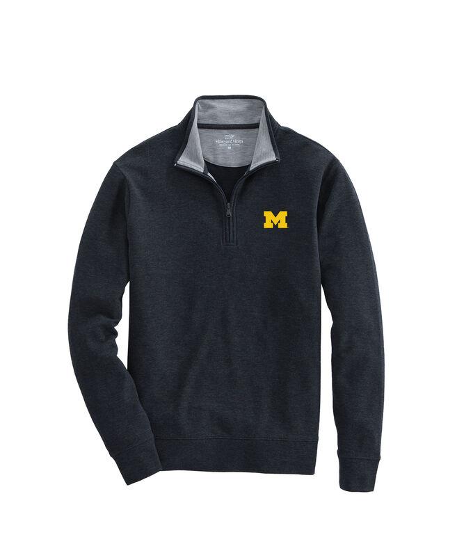 University of Michigan Saltwater 1/4-Zip