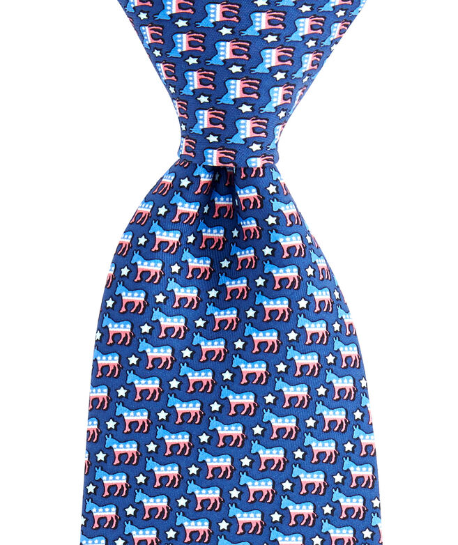 Donkeys With Stars Tie