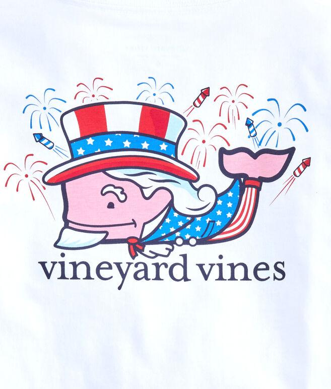 Boys Uncle Sam Whale Pocket T-Shirt
