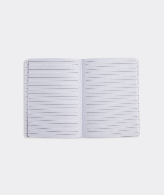 Frangipani Floral Block Print Notebook