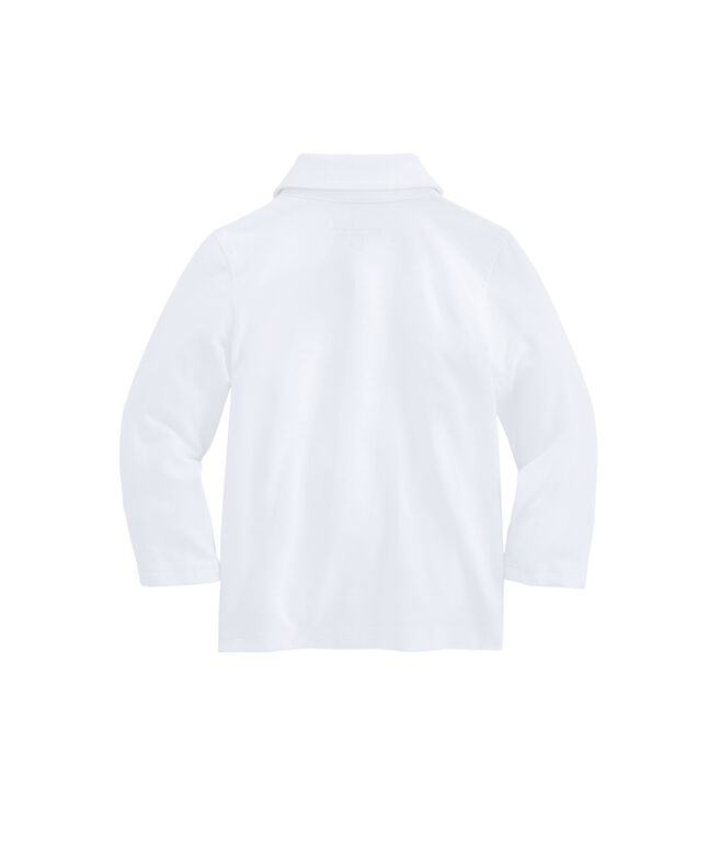 Baby Boys Long-Sleeve Edgartown Polo (12-24 MO)