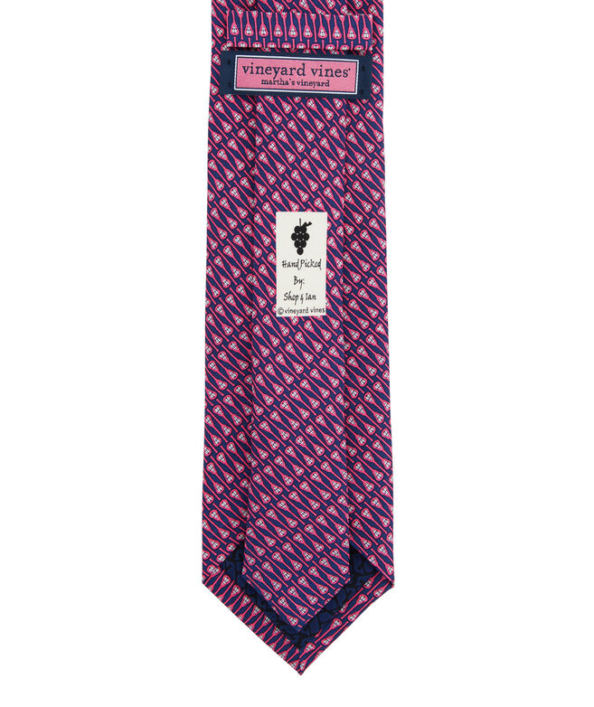 Lacrosse Sticks Printed Tie