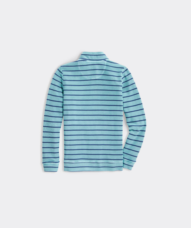 Boys' Striped Garment-Dyed Saltwater 1/2-Zip