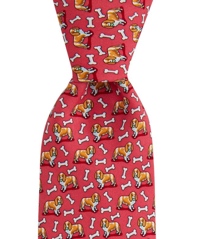 King Charles Cavalier Printed Tie