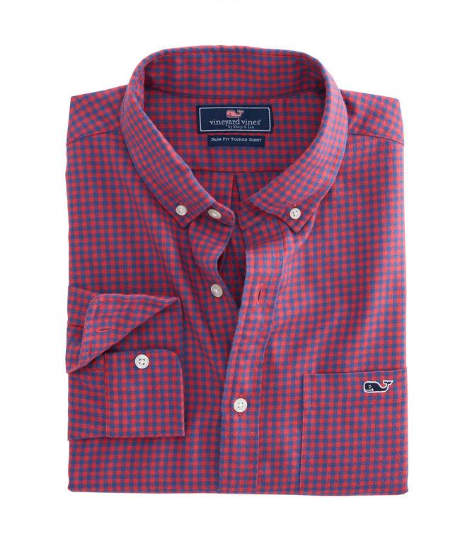 Tradewinds Flannel Slim Tucker Shirt