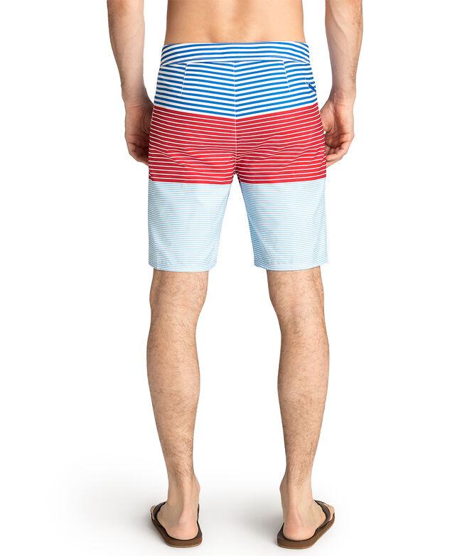 fc3bbd7f46 Whale Harbor Stripe Board Shorts
