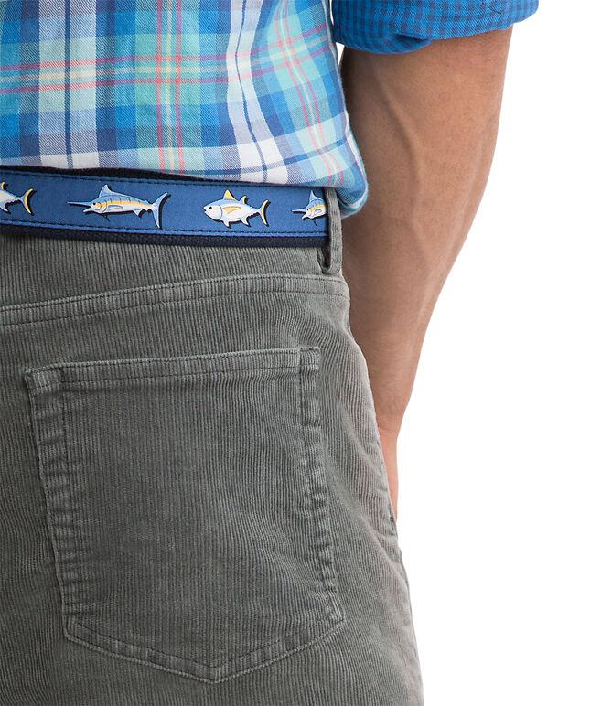 Five Pocket Corduroy Pants