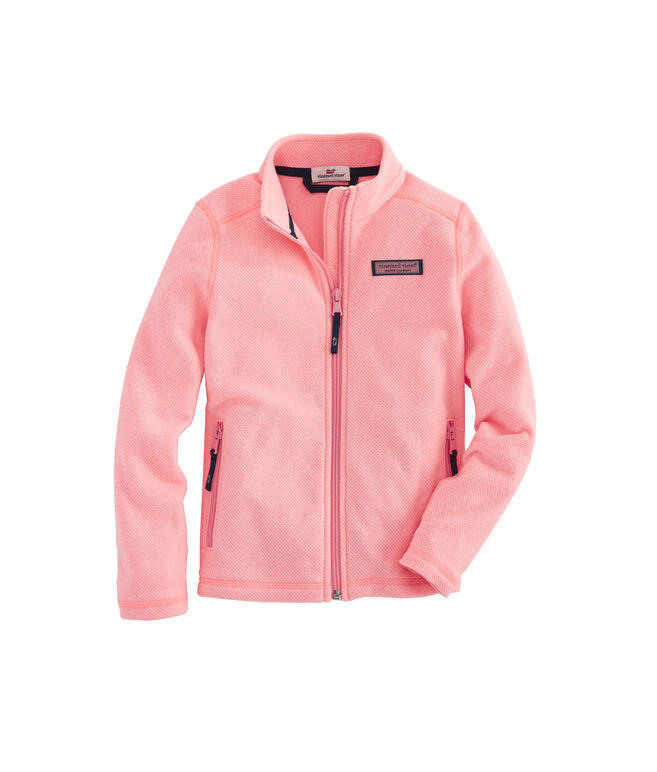 Girls Sweater Fleece Full Zip