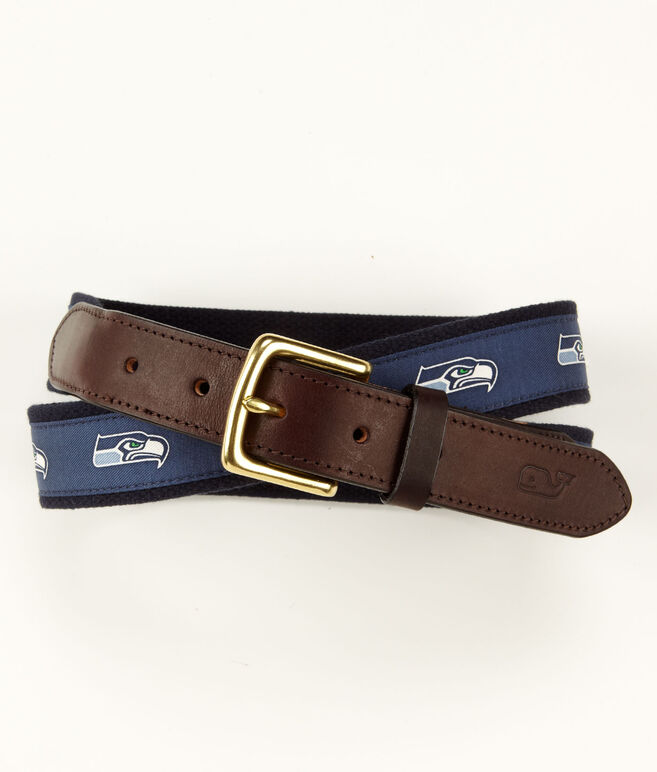 Seattle Seahawks Canvas Club Belt