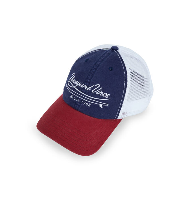 Embroidered Vineyard Trucker Hat