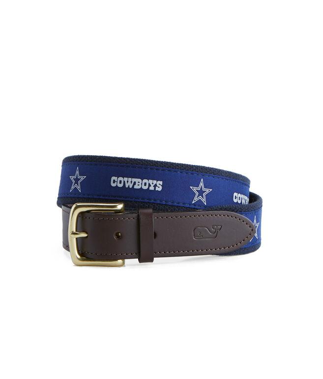 Dallas Cowboys Canvas Club Belt