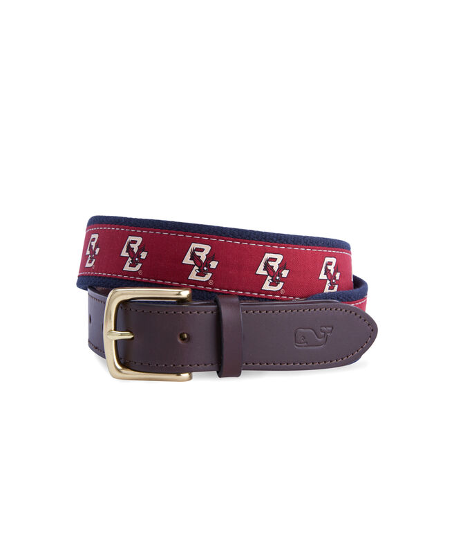 Boston College Canvas Club Belt