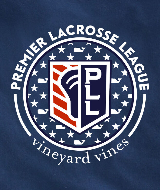 Limited-Edition Premier Lacrosse League Crest Short-Sleeve Pocket Tee