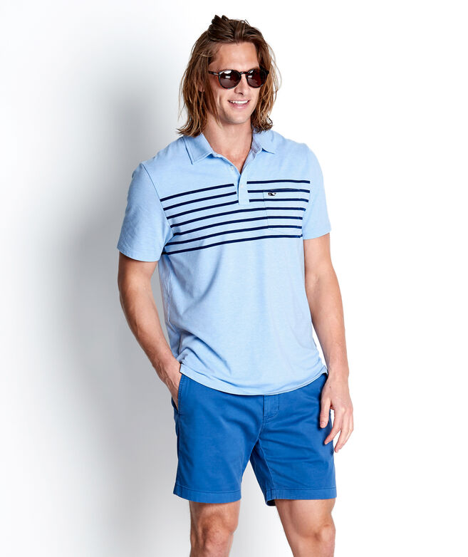 Surfer Stripe Edgartown Polo