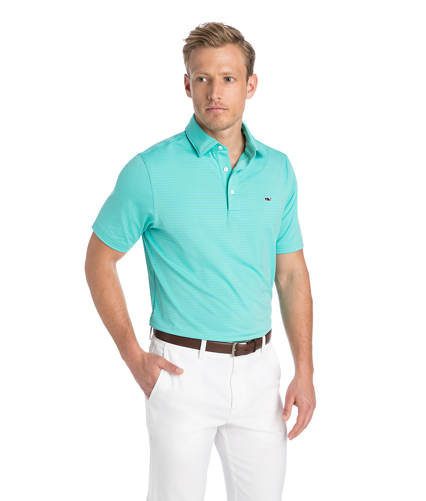 Polo - Polo Life Mss - Royal-White - L OnJeBFtjK