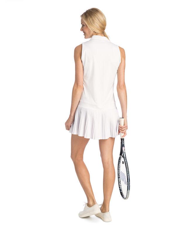 Double Stripe Pleated Sport Dress