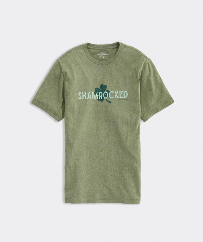Shamrocked Heathered Short-Sleeve Tee