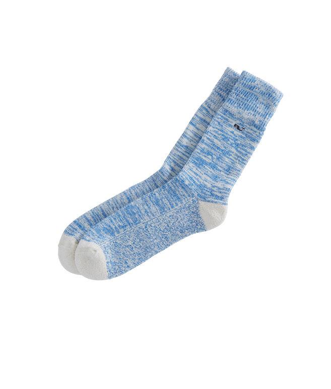 Mouline Solid Socks