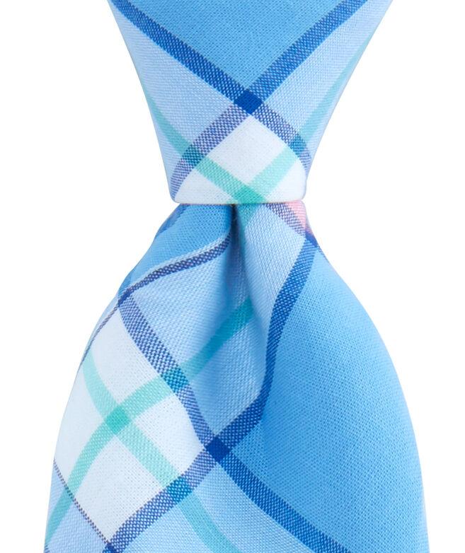 Kennedy Plaid Skinny Tie