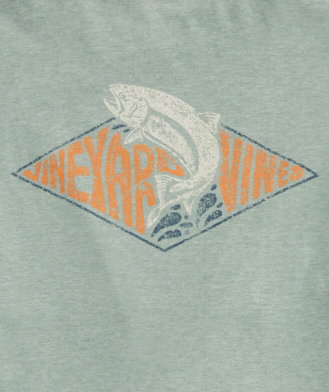 Retro Trout Patch Short-Sleeve Dunes Tee