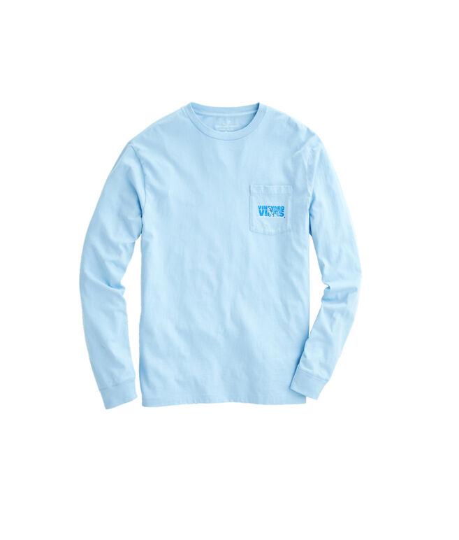 Long-Sleeve Ski Knockout Pocket T-Shirt