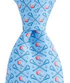 Lacrosse Sticks & Helmets Tie