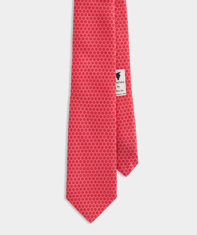 Captain's Wheel Printed Tie