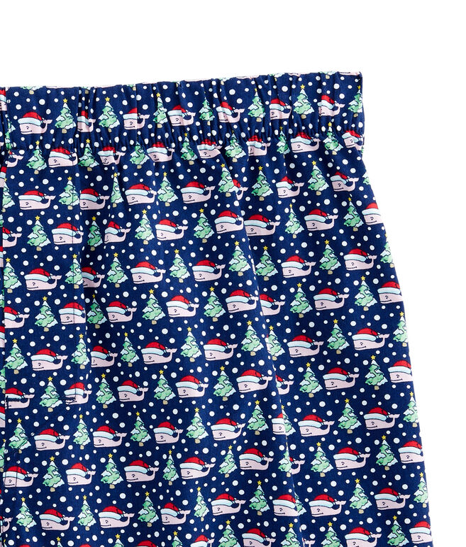 Santa Whale & Tree Boxers